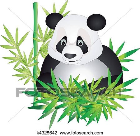 clipart of panda vector k4325642 search clip art