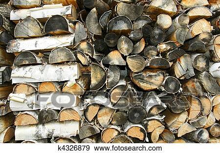 stock fotograf alt schnur von papier birke feuerholz nahaufnahme k4326879 suche stock. Black Bedroom Furniture Sets. Home Design Ideas