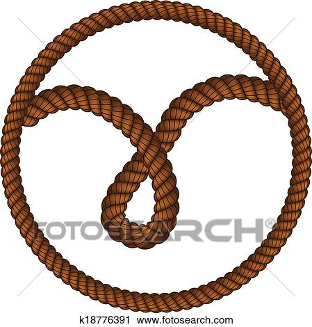 clipart of rope loop k18776391 search clip art illustration rh fotosearch com rope clipart png rope clipart free