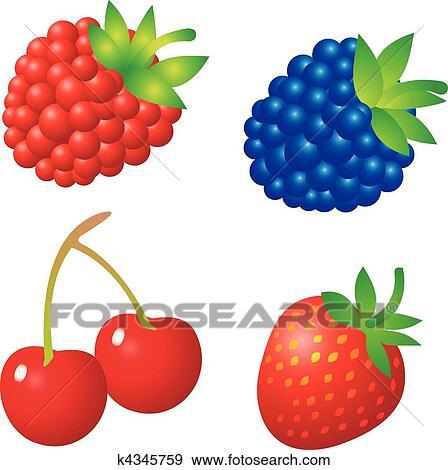 berries clip art � cliparts