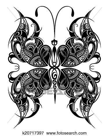 剪贴画 蝴蝶