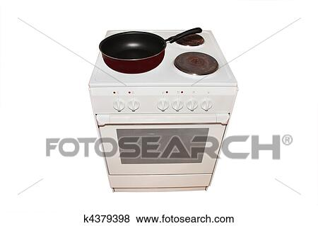 Pictures Of Electric Stove With Pan K4379398 Search