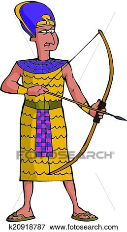 clip art of ancient egyptian warrior k20918787 search clipart rh fotosearch com ancient egypt hieroglyphics clipart ancient egypt clip art free