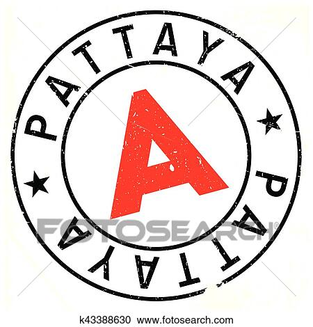 clipart of pattaya stamp rubber grunge k43388630 search clip art rh fotosearch com grunge stamp clipart grunge stamp clipart