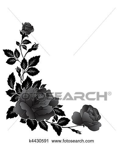 clipart angulaire mod le fleur rose k4430591 recherchez des clip arts des illustrations. Black Bedroom Furniture Sets. Home Design Ideas