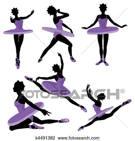 clip art of african american ballerina k4491382 search clipart rh fotosearch com african clip art symbols african clip art borders