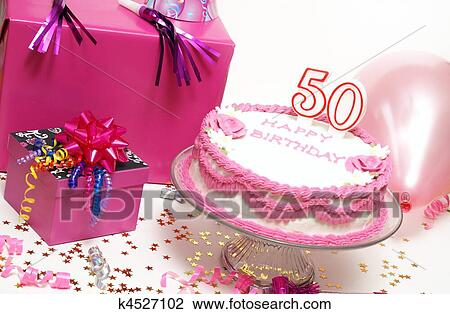 Stock Photo of Happy 50th Birthday k4527102 Search Stock