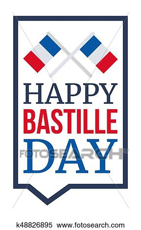 Clipart of happy bastille day k48826895 search clip art happy bastille day celebration banner france independence greeting vector m4hsunfo