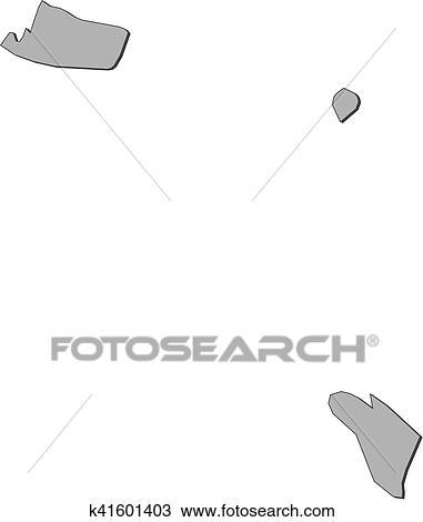 Clipart of Map Ajman United Arab Emirates k41601403 Search