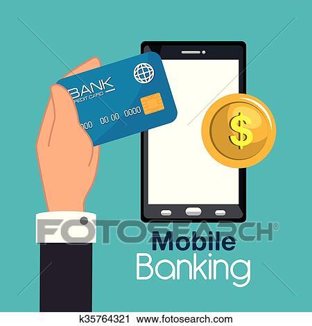 Design bank mobel