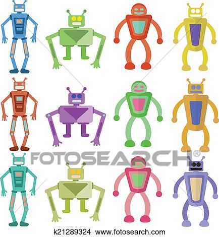 绘画/图画 - 机器人 k21289324 - 搜寻 clip art  and