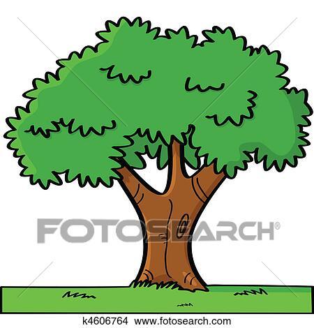 剪贴画 - 卡通漫画, 树图片