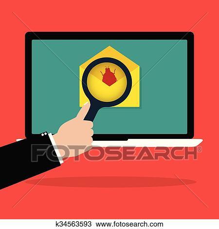 Laptop Clip Art Email