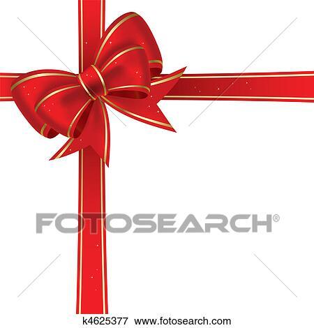 clip art weihnachten schleife k4625377 suche clipart. Black Bedroom Furniture Sets. Home Design Ideas