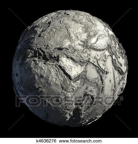 写真素材・動画素材・イラスト素材イラスト - 死んだ, 惑星地球