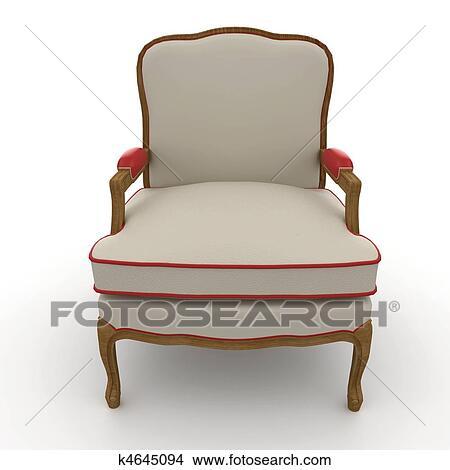 手绘图 - 3d, 家具, 详尽