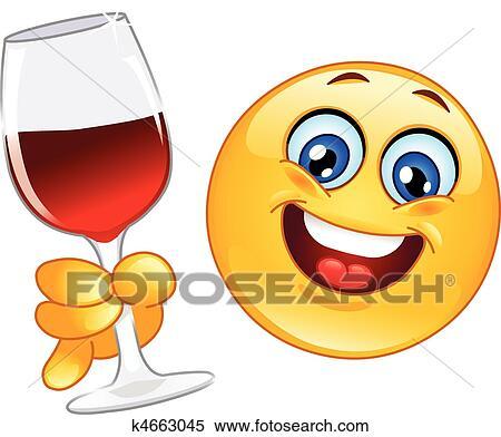 Clip Art Cheers Clipart cheers clipart and illustration 10216 clip art vector eps emoticon