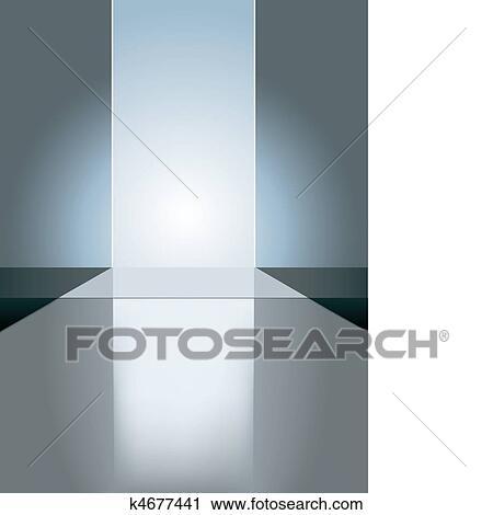 Clipart Of Empty Fashion Runway K4677441