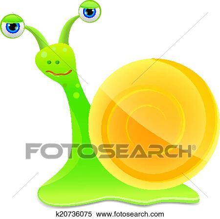 剪贴画 - 蜗牛, 图标