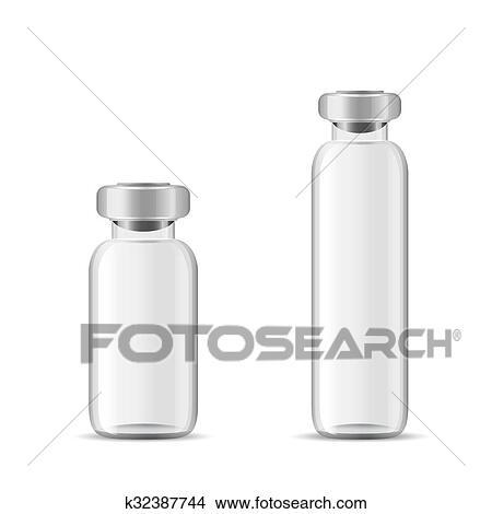 Glas leer clipart  Clipart - leer, glas, medizinische, flasche k32387744 - Suche Clip ...
