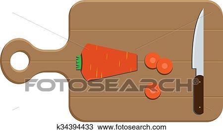 Schneidebrett clipart  Clipart - schneidebrett k34394433 - Suche Clip Art, Illustration ...