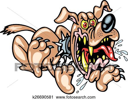 bad dog clipart