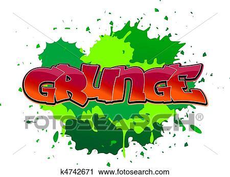 clipart of grunge graffiti background k4742671 search clip art rh fotosearch com