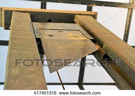 Stock Images of Guillotine for execution k17451316 - Search Stock ...