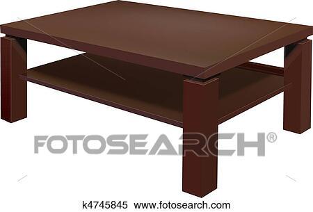 clipart - wohnzimmer, tisch k4745845 - suche clip art, Hause ideen