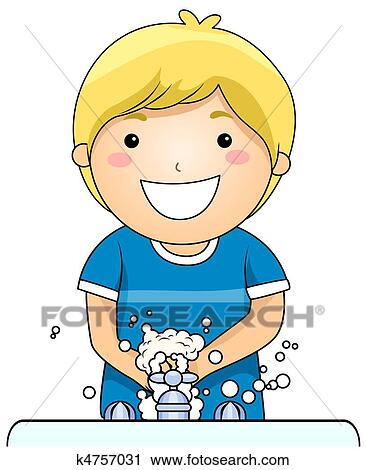 Clip Art Washing Hands Clipart washing hand clipart and stock illustrations 4346 kid hands
