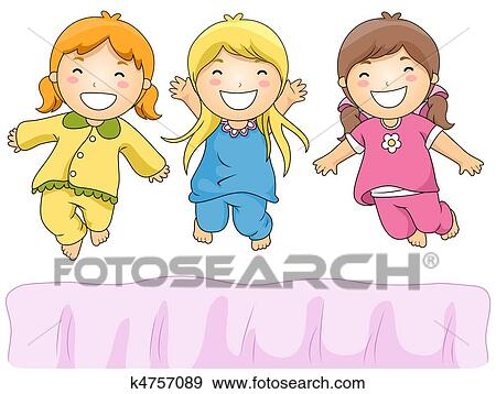 Slumber party Stock Illustration Images. 48 slumber party ...