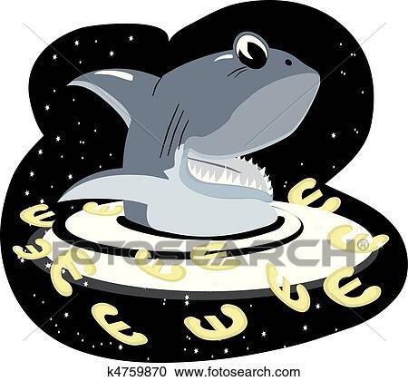 剪贴画 鲨鱼