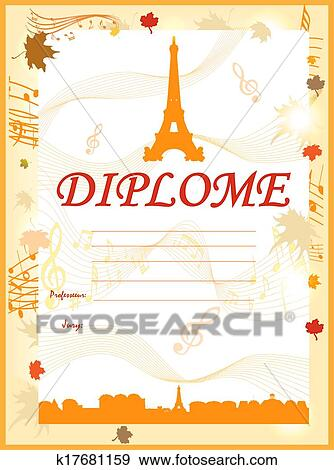 Clip art of karaoke certificate template best singer k17681159 clip art karaoke certificate template best singer fotosearch search clipart illustration yadclub Image collections