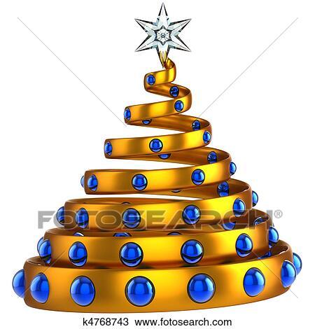 Dibujo moderno rbol de navidad resumen k4768743 - Arbol navidad moderno ...