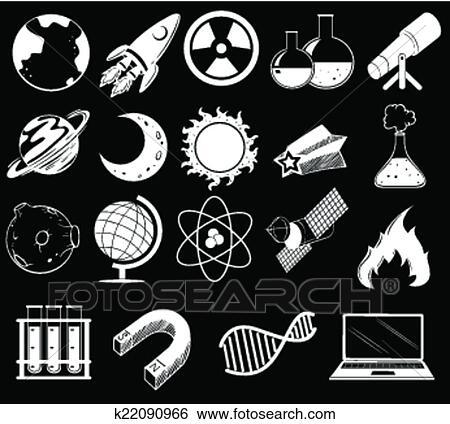 剪贴画 - 科学, 对象