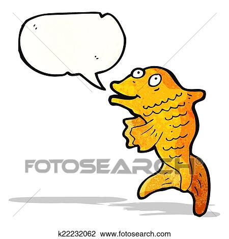 clipart of talking fish cartoon k22232062 search clip art rh fotosearch com clipart walking clip art walking shoes