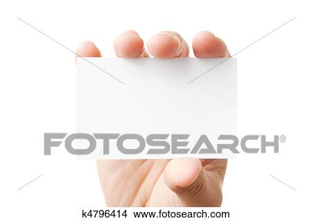 blank business card stock