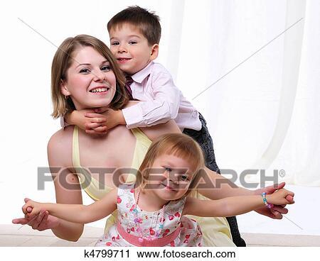 фото мама і сын
