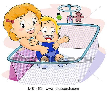 Babysitter Illustrations and Stock Art. 134 babysitter ...