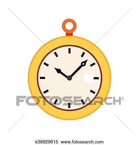Taschenuhr clipart kostenlos  Clipart - taschenuhr, symbol, in, flache, stil k38929615 - Suche ...
