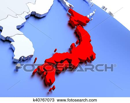 Drawing of japan on world map k40767073 search clipart drawing japan on world map fotosearch search clipart illustration fine art gumiabroncs Images