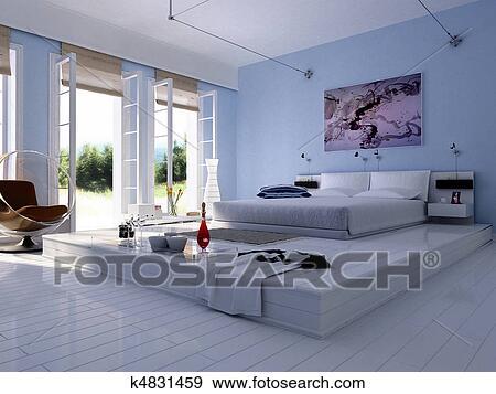 Banque d 39 illustrations 3d rendre de int rieur maison for Voir ma maison en 3d
