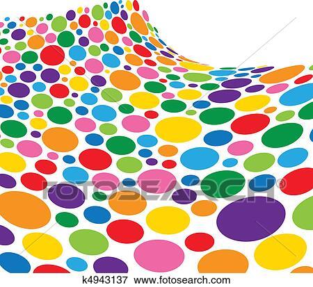 剪贴画 - 彩虹, 海绵,