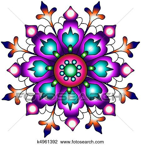clip art of india ornament paisley seamless pr k4961392 search rh fotosearch com indiana clipart indian clipart free