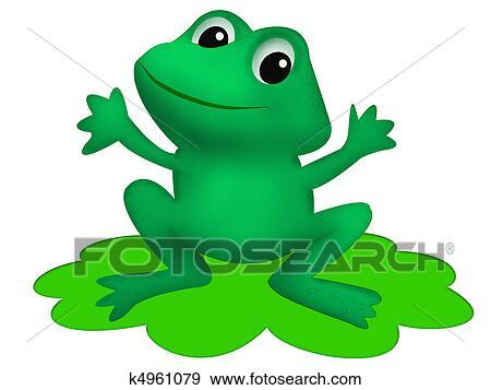 Kolekcje Ilustracji - żaba. Fotosearch - Szukaj Kliparty Wektorowe, Szkice, Wydruki Murali i Obrazy Graficzne EPS