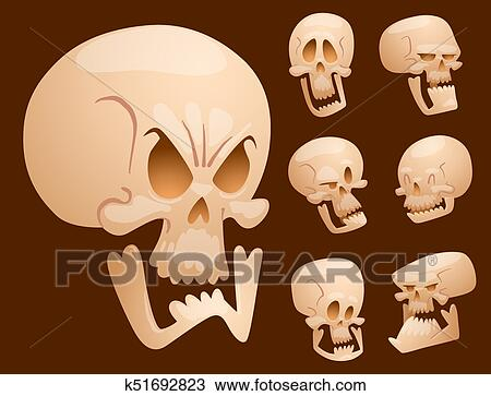 Cartoon Skull Images Stock Photos amp Vectors  Shutterstock