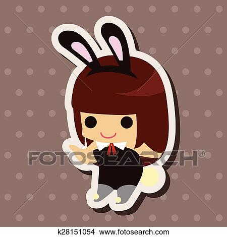 Clipart of casino playboy bunny theme elements k28151054 - Search ...