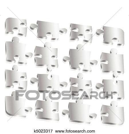clipart m tal morceaux puzzle k5023317 recherchez des cliparts des illustrations des. Black Bedroom Furniture Sets. Home Design Ideas