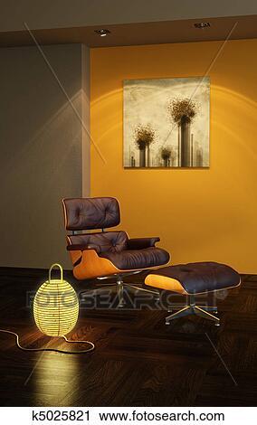 clipart asiatische stil innere k5025821 suche clip. Black Bedroom Furniture Sets. Home Design Ideas