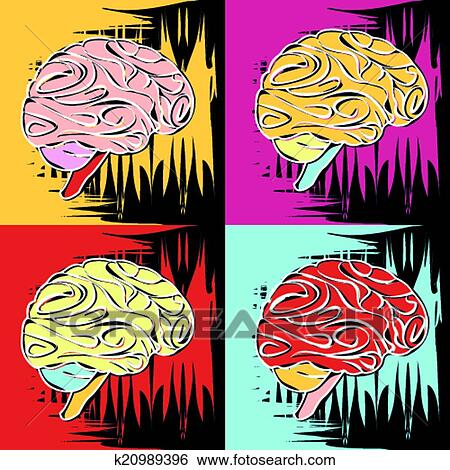 Clip Art of painting in the style of Andy Warhol k20989396 ...: becuo.com/andy-warhol-clip-art